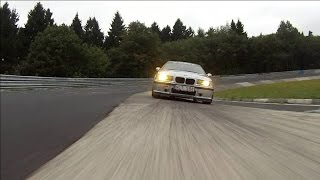 BMW 328ti Compact hunting Cayman S on Nürburgring Thumbnail