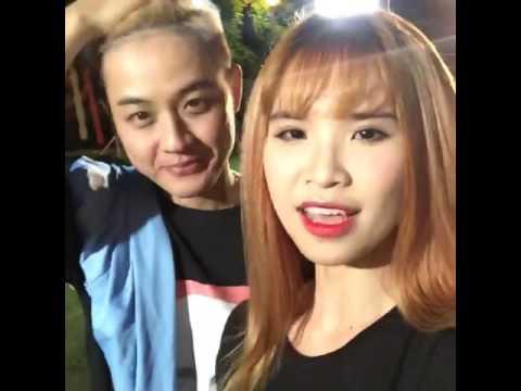 Khởi My livestream quay LHVN Vào Buổi Tối (18/7/2016)