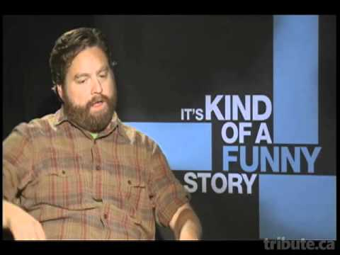 Zach Galifianakis (It's Kind of a Funny Story) Interview