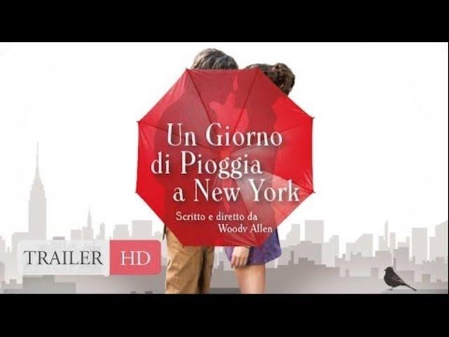 Un Giorno di Pioggia a New York | Trailer Ufficiale Italiano HD
