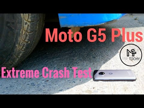 Moto G5 Plus - Extreme Crash Test   Durability Check