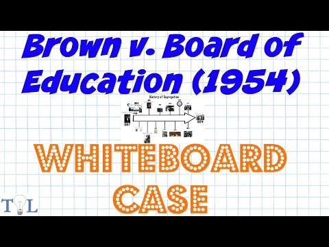 Brown v. Board of Education (Segregation) - Landmark Cases - Episode #10
