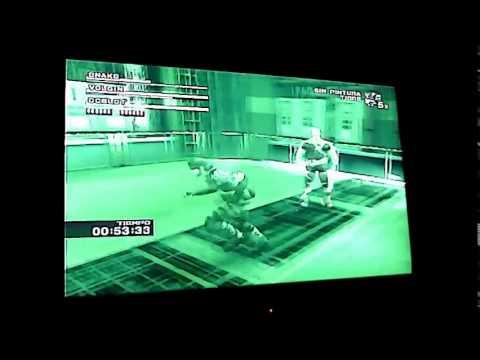 MGS3 Snake Vs Volgin CQC no Damage Webcam