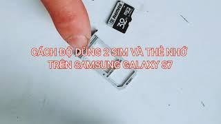Độ 2 sim + thẻ nhớ cho điện thoại samsung ...
