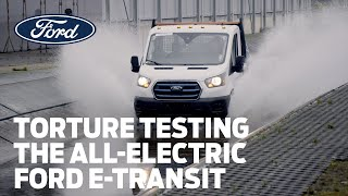 Torture Testing the All-Electric Ford E-Transit