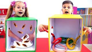ديانا وروما تحدي ألعاب للأطفال