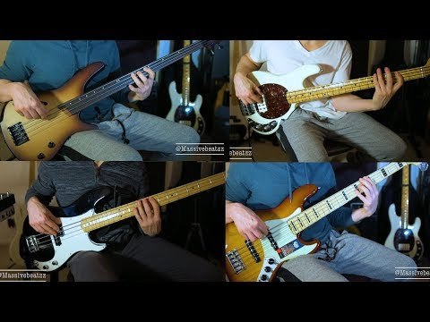Precision vs Stingray vs Jazz Elite V vs Ibanez Fretless BASS