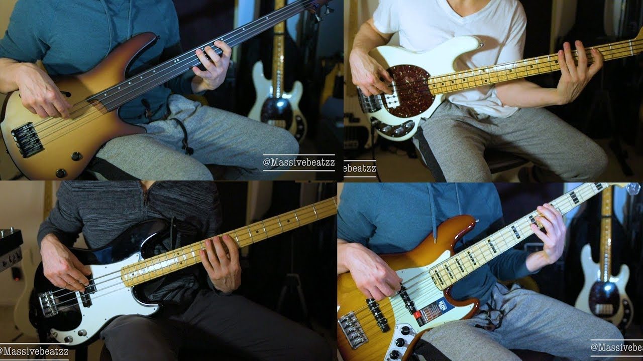 precision vs stingray vs jazz elite v vs ibanez fretless bass youtube. Black Bedroom Furniture Sets. Home Design Ideas