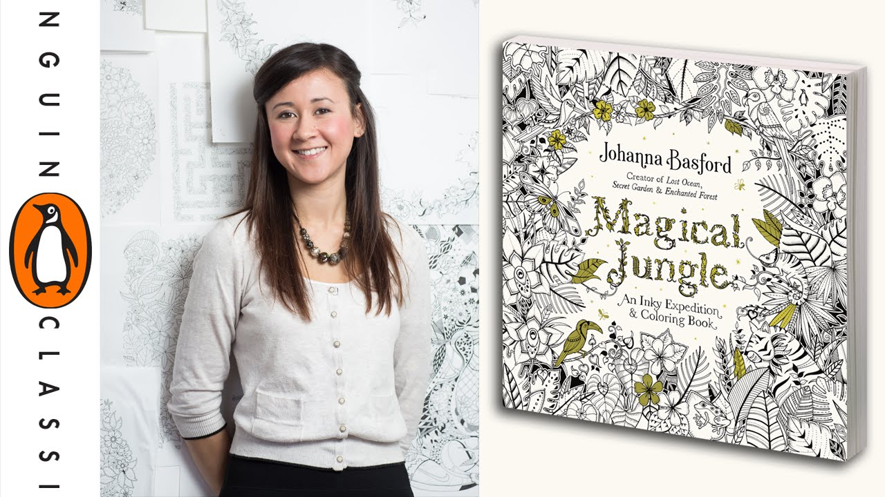 MAGICAL JUNGLE Behind The Scenes With Johanna Basford