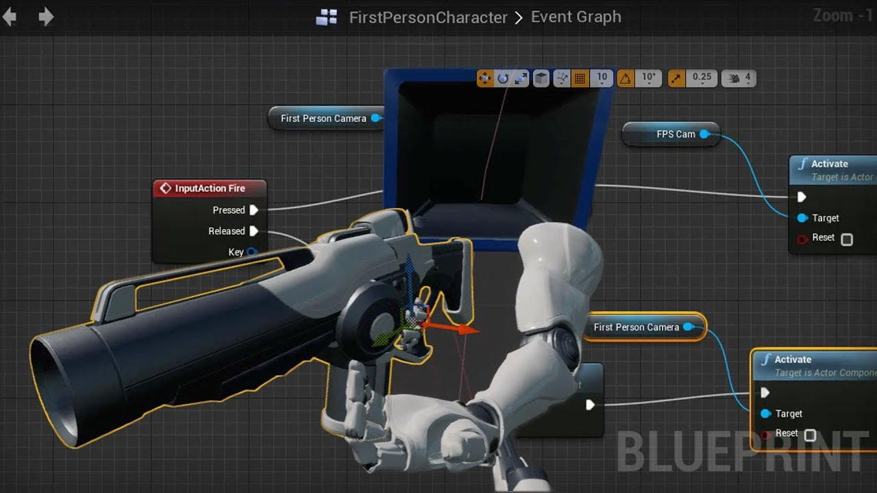 Creating First Person Shooter Animations for Games | The Gnomon Workshop