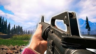 Far Cry 5 NEW HOURS OF DARKNESS GUNS ADDED (Far Cry 5 M16, SVD, MP5SD, M60V)