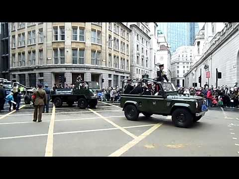 Honourable Artillery Company, Lord Mayor's Show 2017