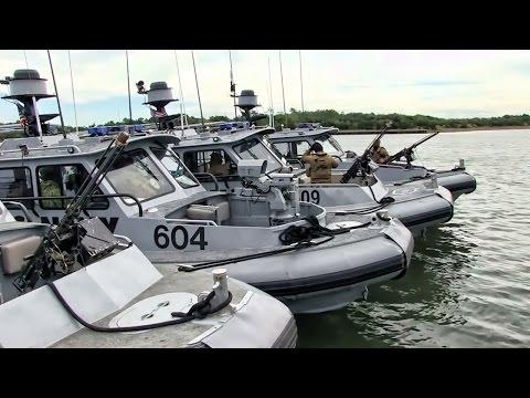 U.S. Navy Sea Ark Patrol Boats • CORIVRON 4