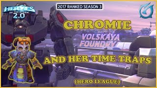 Grubby | Heroes of the Storm - Chromie and Her Time Traps - HL 2017 S3 - Volskaya Foundry