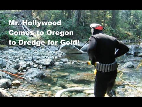Mr. Hollywood is Gold Dredging a Secret Creek in Oregon