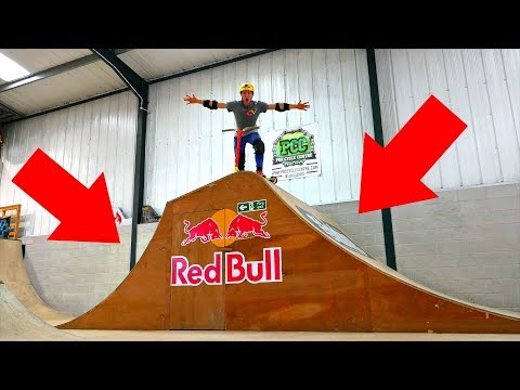 I TESTED THE BRAND NEW RED BULL JUMP BOX!!!