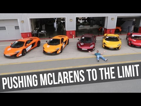 PUSHING MCLARENS TO THE LIMIT!!!
