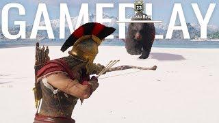 Assassin's Creed Odyssey Legendary Bear Fight Gameplay