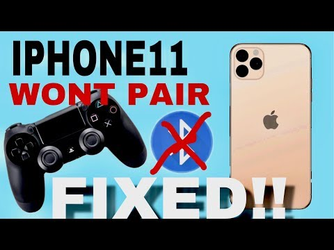 PS4 Controller won't connect to Iphone11/Pro/ProMax - FIXED
