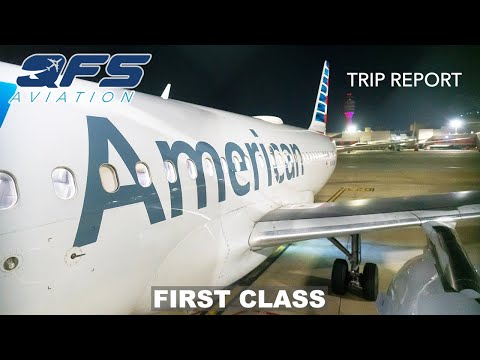 TRIP REPORT | American Airlines - A319 - Charlotte (CLT) To Atlanta (ATL) | First Class