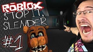 Stop It Slender! - Markiplier plays Roblox!?! 0_0