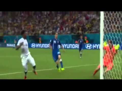 Italy vs England World Cup 2014 Highlights