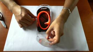 Revoltec Serial ATA cable unboxing HD