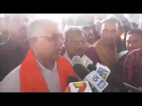 DILIP GHOSH TALKING ABOUT BARUN BHUJAL TODAY WITH MEDIA