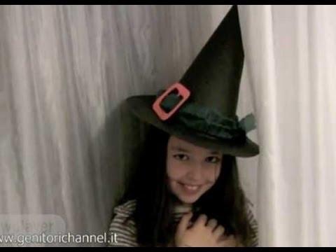 Cappello da strega x Halloween - YouTube dde354a817c7