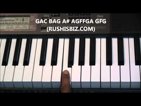 Kal Ho Naa Ho (Title Song) - Piano Tutorials