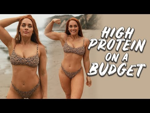 CHEAP HEALTHY FOOD (High Protein) | How to Shop on a Budget, Budget Cooking Tips + More