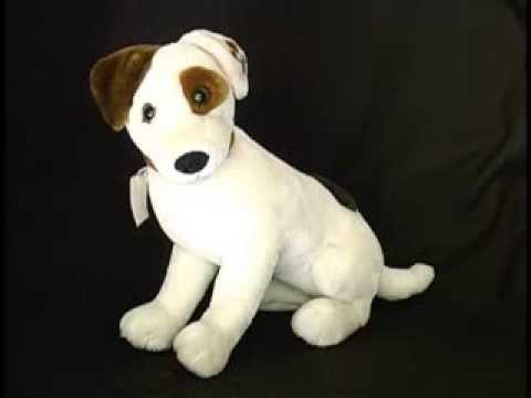 Talking WISHBONE mint cond WORKS plush LARGE stuffed dog Equity Disney Big Feats - d26