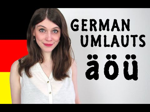 GERMAN UMLAUTS for Dummies