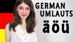 GERMAN UMLAUTS for Dummies - How To Pronounce Ä, Ö, Ü