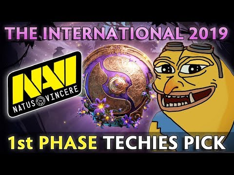 NaVi FIRST PHASE TECHIES PICK On TI9 FINALS — CIS Qualifiers