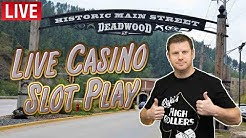 BoD Live Casino Slot Play from Deadwood - Part 1