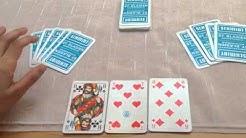 How to play the card game Mau-Mau, Pumba, Makao, Tschau Sepp or Le huit américain