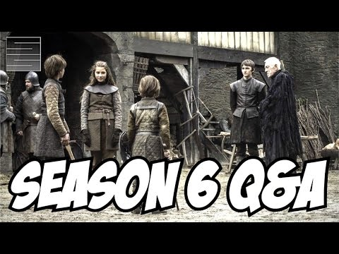 Game of Thrones Season 6 Q&A feat. DUST
