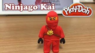 Making Play Doh Kai (Ninjago)
