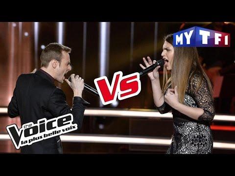 Ry'm VS Aurelle - « For Me Formidable » (Charles Aznavour) | The Voice France 2017 | Battle