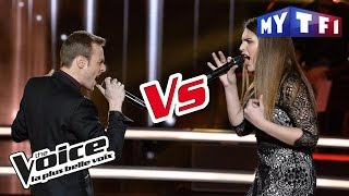 Ry'm VS Aurelle - « For Me Formidable » (Charles Aznavour) | The Voice France 2017 | Battle