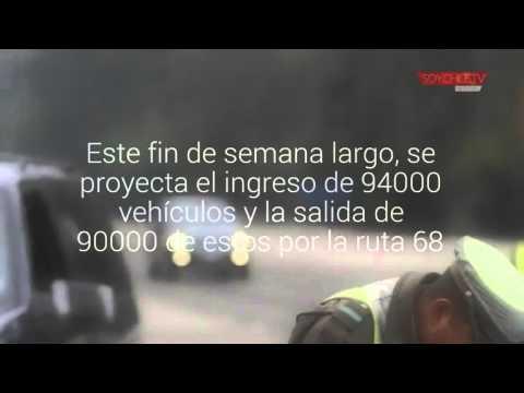 El Chile - Argentina postergaría el peak de ingresos a la región de Valparaíso por la ruta 68