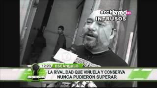 Jose Miguel Viñuela y Claudia Conserva nunca lograron llevarse bien