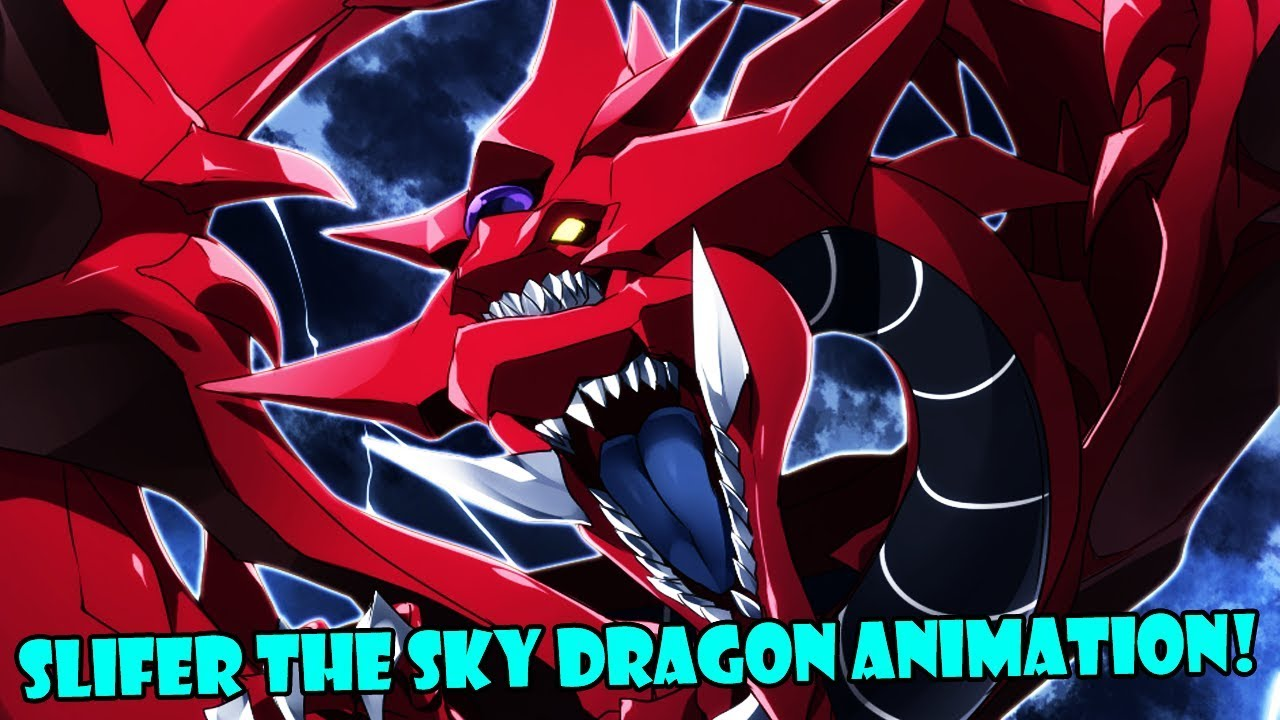 Slifer The Sky Dragon Animation Bad Quality Yu Gi Oh Duel Links