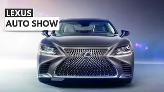 2018 Lexus LS Gets More Style & Tech