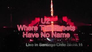 U2 / Where The Streets Have No Name / Santiago Chile 25.03.11 DVD
