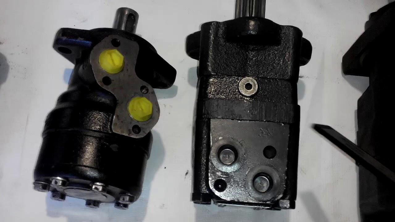 Будем строить мини-погрузчик Часть2 Гидромоторы