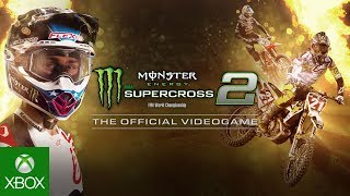 Monster Energy Supercross - The Official Videogame 2 - First gameplay reveal / Видео