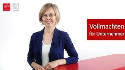 Ausfall des Geschäftsführers: welche Vollmachten braucht man als GmbH / GmbH & Co. KG