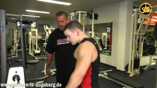 ALL STARS Junior Kevin Schleier Personaltraining mit Teamcoach Bernhard Schuber
